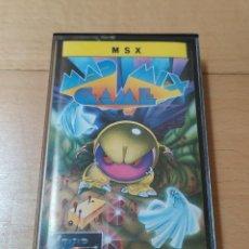 Videojuegos y Consolas: JUEGO FORMATO CASSETTE MSX MSX2 MAD MIX GAME TOPO SOFT FUNCIONANDO PERFECTAMENTE. Lote 191706450