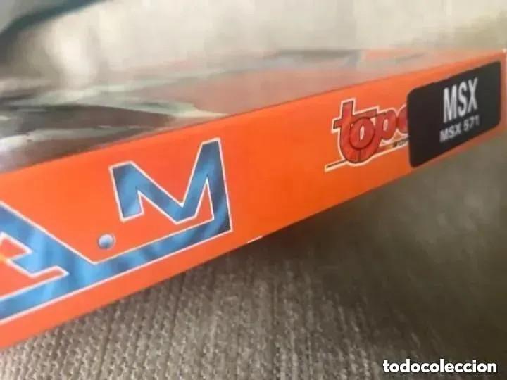 Videojuegos y Consolas: ANTIGUO JUEGO MSX RAM R.A.M. TOP SOFT - Foto 2 - 194494041