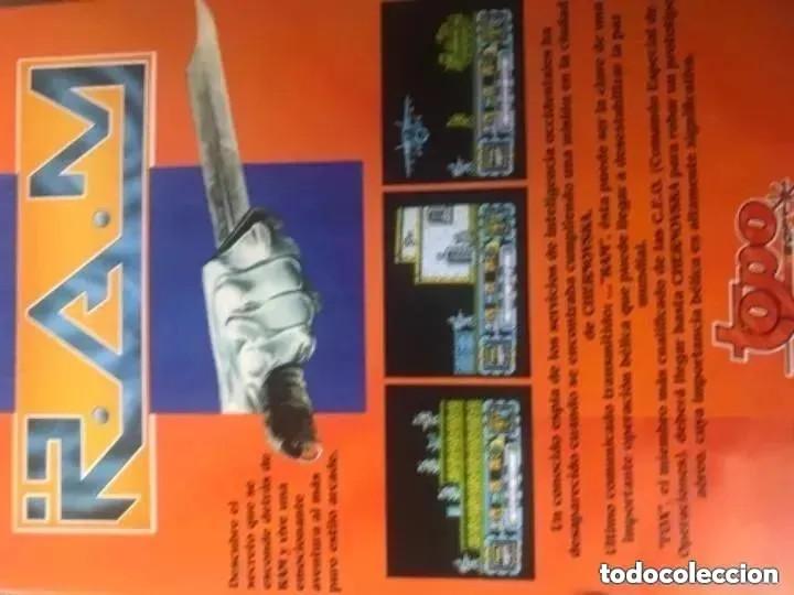 Videojuegos y Consolas: ANTIGUO JUEGO MSX RAM R.A.M. TOP SOFT - Foto 3 - 194494041
