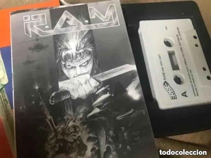 Videojuegos y Consolas: ANTIGUO JUEGO MSX RAM R.A.M. TOP SOFT - Foto 4 - 194494041
