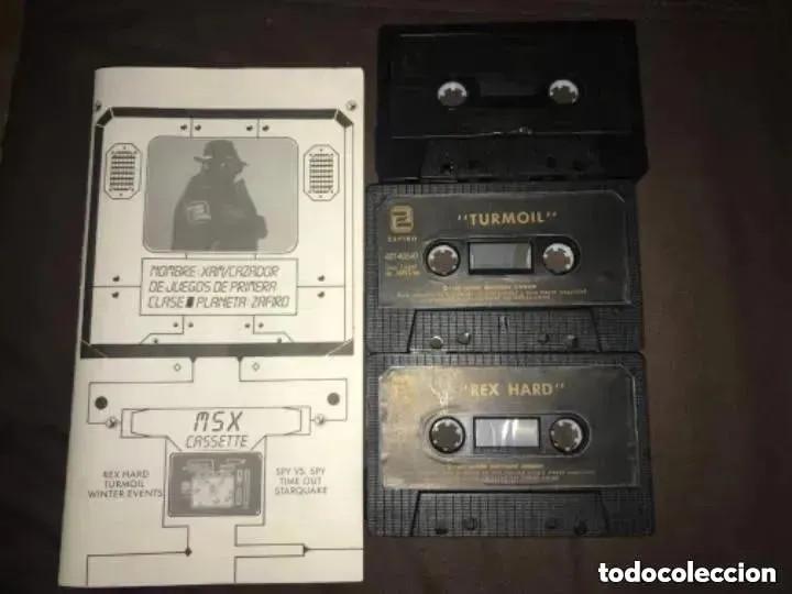 Videojuegos y Consolas: ANTIGUO JUEGOS MSX SPECTRUM AMSTRAD BUSCA LA ACCION ZAFIRO - Foto 4 - 194494521