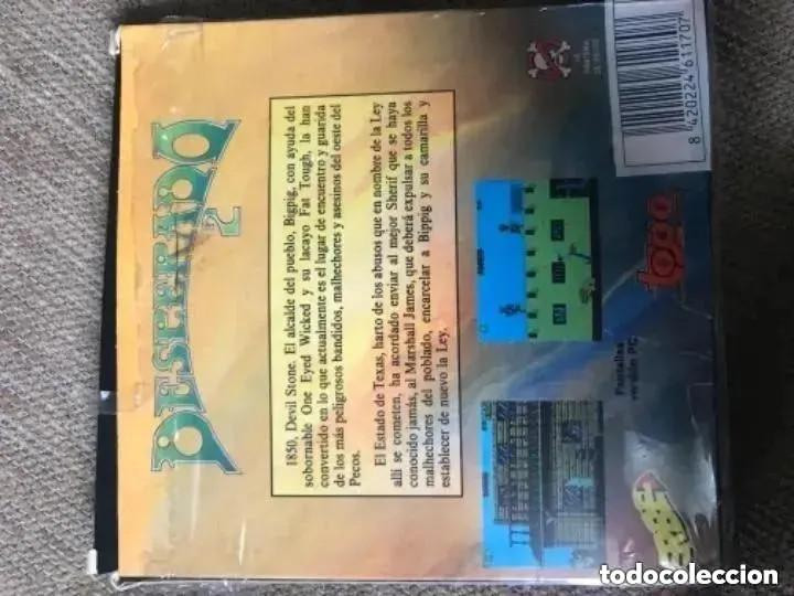 Videojuegos y Consolas: ANTIGUO JUEGO MSX DESPERADO 2 TOPO ERBE - Foto 2 - 194495465