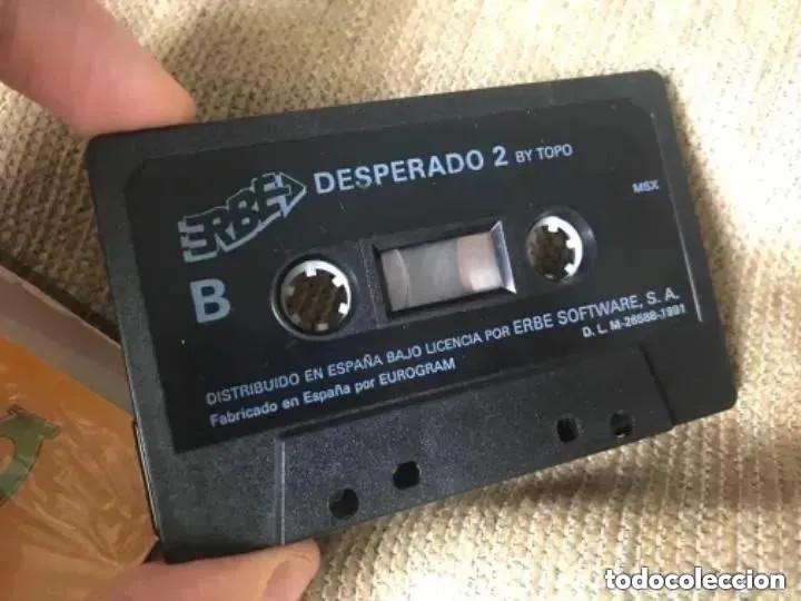 Videojuegos y Consolas: ANTIGUO JUEGO MSX DESPERADO 2 TOPO ERBE - Foto 4 - 194495465