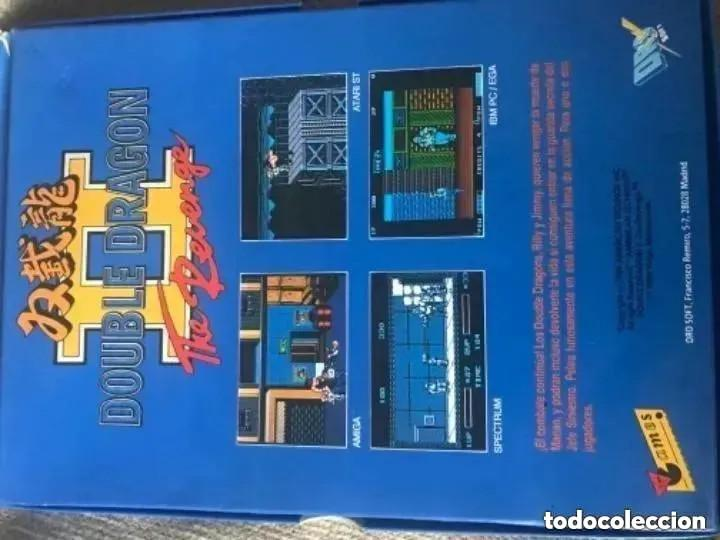 Videojuegos y Consolas: ANTIGUO JUEGO MSX DOUBLE DRAGÓN II DRO SOFT - Foto 3 - 194495846