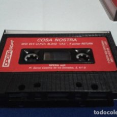 Videojuegos y Consolas: JUEGO DE ORDENADOR MSX ( MSX COSA NOSTRA - OPERA SOFT ) 1986. Lote 194643055