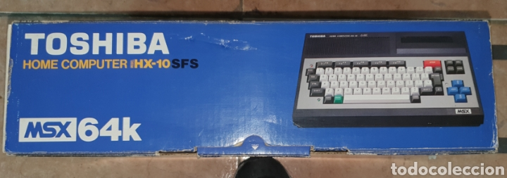 Videojuegos y Consolas: ANTIGUO MSX 64 TOSHIBA HOME COMPUTER HX-10 SFS EN SU CAJA RETROVINTAGEJUGUETES - Foto 4 - 195685200
