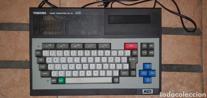 Videojuegos y Consolas: ANTIGUO MSX 64 TOSHIBA HOME COMPUTER HX-10 SFS EN SU CAJA RETROVINTAGEJUGUETES - Foto 11 - 195685200