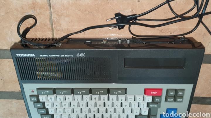 Videojuegos y Consolas: ANTIGUO MSX 64 TOSHIBA HOME COMPUTER HX-10 SFS EN SU CAJA RETROVINTAGEJUGUETES - Foto 12 - 195685200