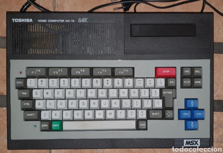 Videojuegos y Consolas: ANTIGUO MSX 64 TOSHIBA HOME COMPUTER HX-10 SFS EN SU CAJA RETROVINTAGEJUGUETES - Foto 13 - 195685200