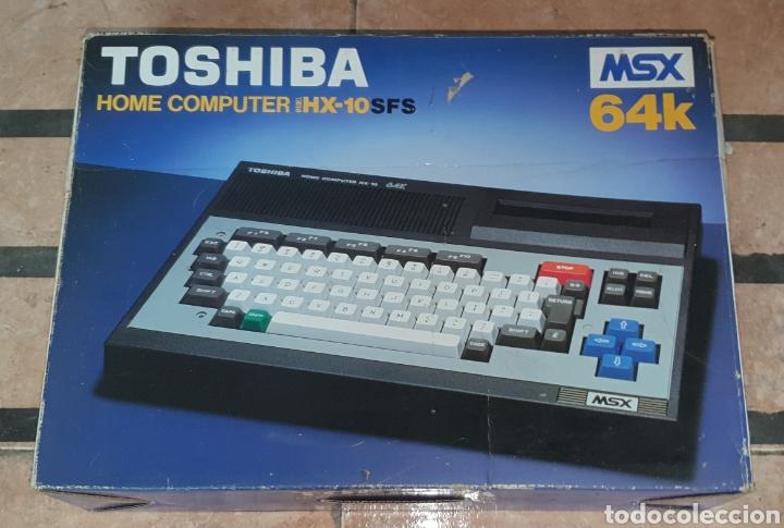 ANTIGUO MSX 64 TOSHIBA HOME COMPUTER HX-10 SFS EN SU CAJA RETROVINTAGEJUGUETES (Juguetes - Videojuegos y Consolas - Msx)