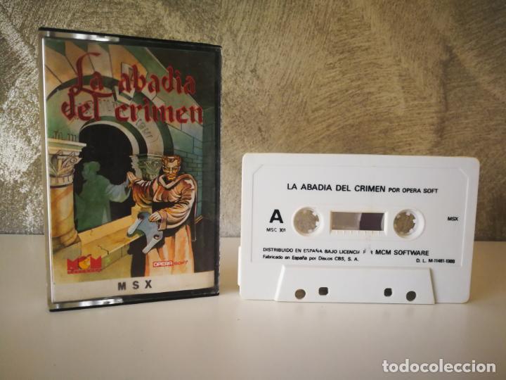 LA ABADÍA DEL CRIMEN MSX (Juguetes - Videojuegos y Consolas - Msx)
