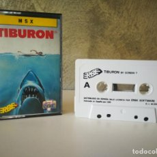 Videojuegos y Consolas: TIBURÓN MSX. Lote 196494552