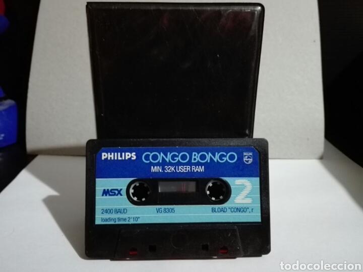 Videojuegos y Consolas: -CONGO BONGO -JUEGO MSX -CASSETTE- SUPER RARO -SIN CARATULA - Foto 2 - 196527607