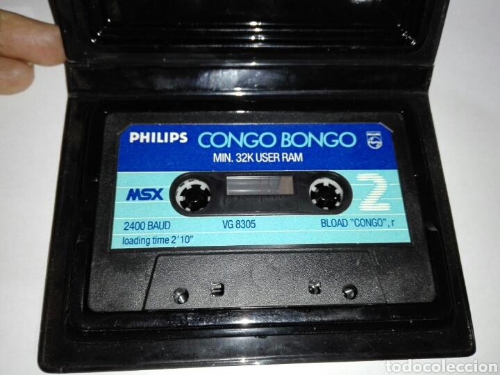 Videojuegos y Consolas: -CONGO BONGO -JUEGO MSX -CASSETTE- SUPER RARO -SIN CARATULA - Foto 4 - 196527607