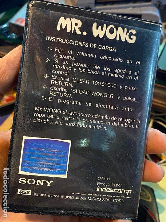 Videojuegos y Consolas: JUEGO ORDENADOR mr. wong - MSX - CASETE - HIT BIT SONY - Foto 2 - 196554652