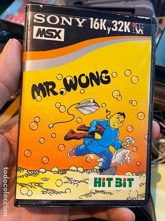 JUEGO ORDENADOR MR. WONG - MSX - CASETE - HIT BIT SONY (Juguetes - Videojuegos y Consolas - Msx)