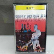 Jeux Vidéo et Consoles: ANTIGUO JUEGO ORDENADOR PARA MSX NUCLEAR BOWLS. Lote 196768505