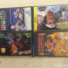 Videojuegos y Consolas: LOTE MSX EMILIO BUTRAGUEÑO, ASPAR, SANCHEZ VICARIO, FERNANDO MARTIN. Lote 197039037