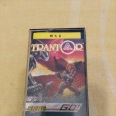 Videojuegos y Consolas: TRANTOR MSX. Lote 197116956