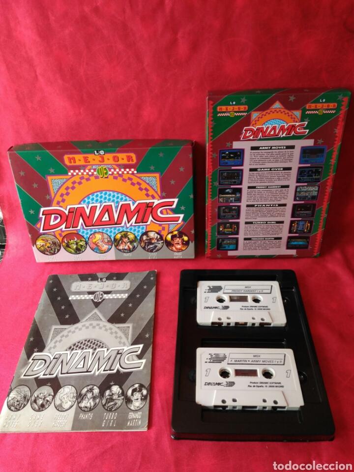 Videojuegos y Consolas: JUEGO MSX LO MEJOR DE DINAMIC - Foto 3 - 197210432