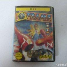 Videojuegos y Consolas: 10TH FRAME / ESTUCHE / MSX / RETRO VINTAGE / CASSETTE - CINTA. Lote 197759786