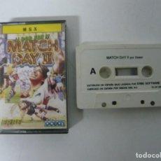 Videojuegos y Consolas: MATCH DAY 2 / JEWEL CASE / MSX / RETRO VINTAGE / CASSETTE - CINTA. Lote 197760882