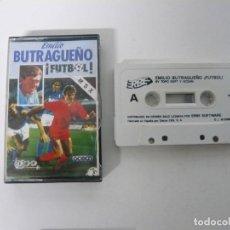 Videojuegos y Consolas: EMILIO BUTRAGUEÑO FÚTBOL / JEWEL CASE / MSX / RETRO VINTAGE / CASSETTE - CINTA. Lote 247100720