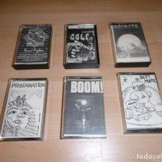 Videojuegos y Consolas: LOTE DE 6 JUEGOS DE MSX. EPOCA RASTRO MERCADILLO DE MADRID. Lote 197967812