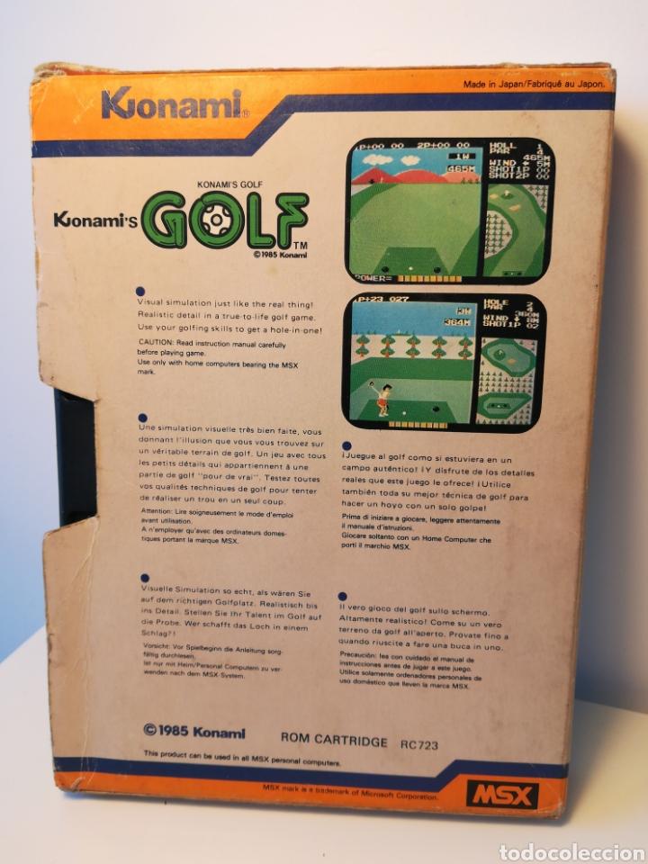 Videojuegos y Consolas: Juego de cartucho MSX Konamis Golf (1985) COMPROBADO FUNCIONA - Foto 2 - 200260303