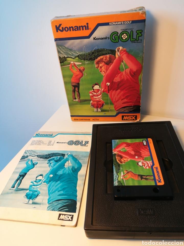 Videojuegos y Consolas: Juego de cartucho MSX Konamis Golf (1985) COMPROBADO FUNCIONA - Foto 4 - 200260303