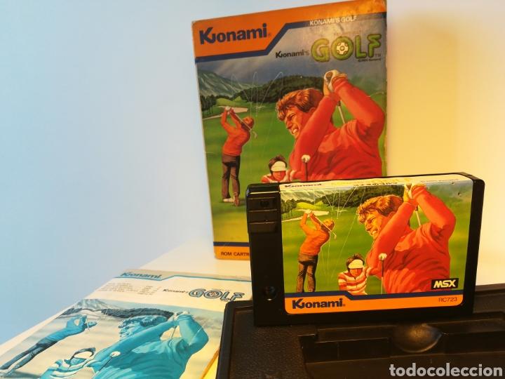 Videojuegos y Consolas: Juego de cartucho MSX Konamis Golf (1985) COMPROBADO FUNCIONA - Foto 5 - 200260303