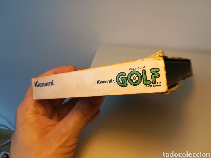 Videojuegos y Consolas: Juego de cartucho MSX Konamis Golf (1985) COMPROBADO FUNCIONA - Foto 6 - 200260303