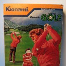 Videojuegos y Consolas: JUEGO DE CARTUCHO MSX KONAMI'S GOLF (1985) COMPROBADO FUNCIONA. Lote 200260303