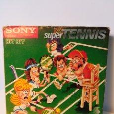 Videojuegos y Consolas: JUEGO DE CARTUCHO MSX SUPER TENNIS (HIT BIT, 1984) COMPROBADO FUNCIONA. Lote 200260968