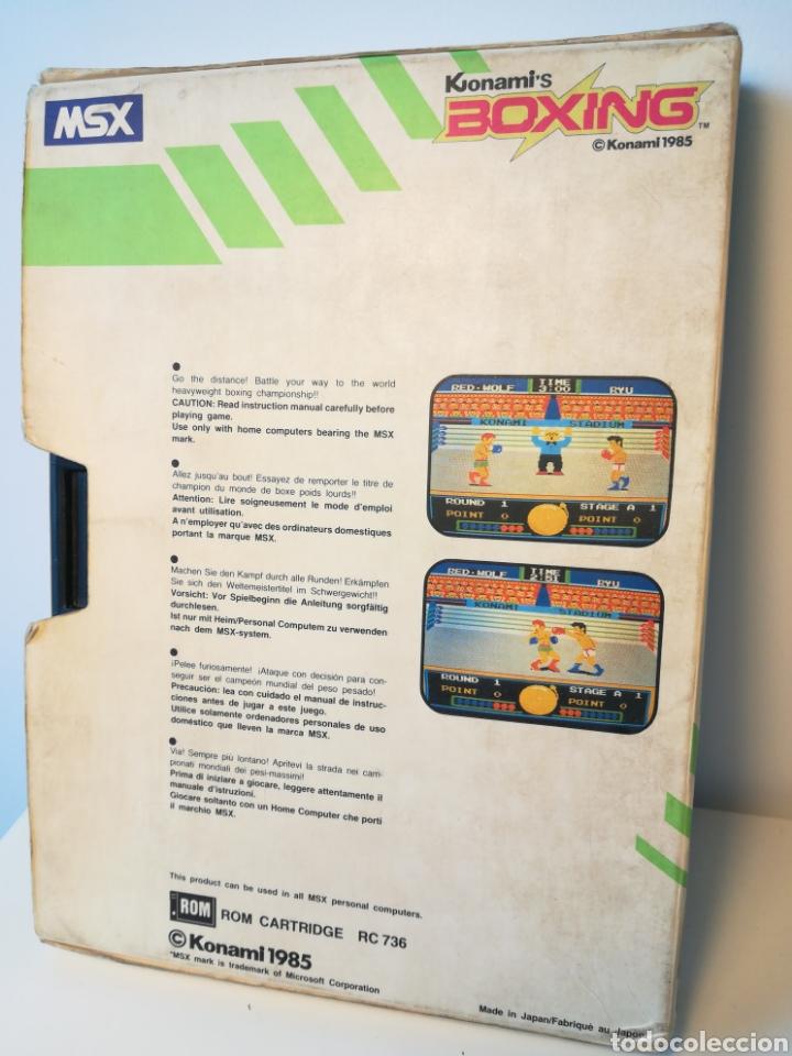 Videojuegos y Consolas: Juego de cartucho MSX Konamis Boxing (1985) COMPROBADO FUNCIONA - Foto 2 - 200261718