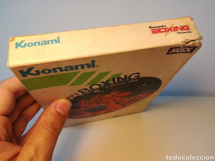 Videojuegos y Consolas: Juego de cartucho MSX Konamis Boxing (1985) COMPROBADO FUNCIONA - Foto 4 - 200261718