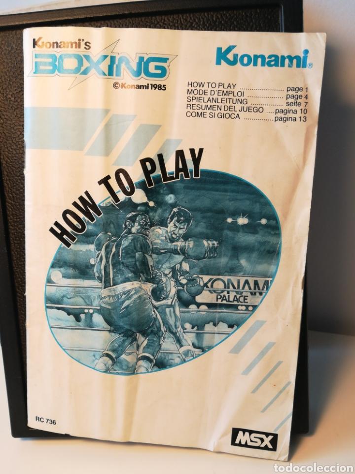 Videojuegos y Consolas: Juego de cartucho MSX Konamis Boxing (1985) COMPROBADO FUNCIONA - Foto 6 - 200261718