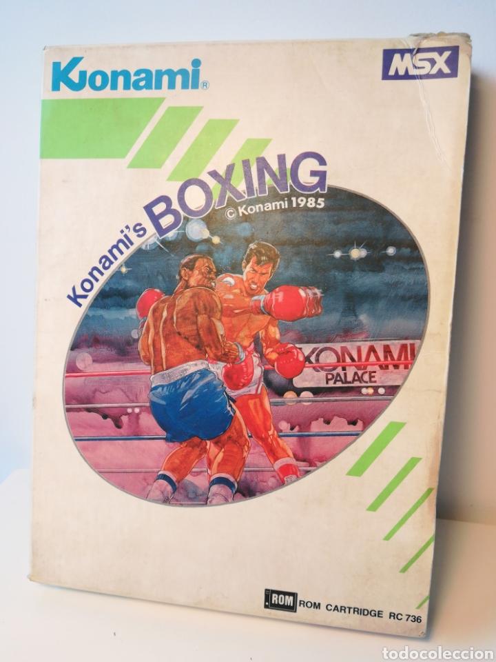 JUEGO DE CARTUCHO MSX KONAMI'S BOXING (1985) COMPROBADO FUNCIONA (Juguetes - Videojuegos y Consolas - Msx)