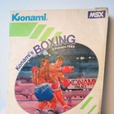 Videojuegos y Consolas: JUEGO DE CARTUCHO MSX KONAMI'S BOXING (1985) COMPROBADO FUNCIONA. Lote 200261718