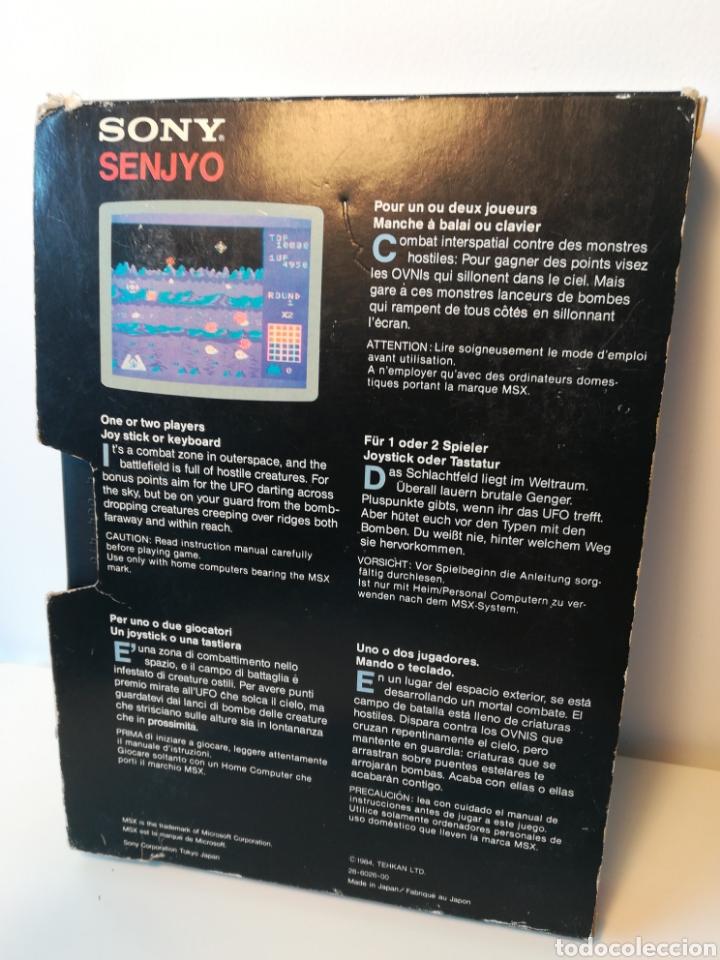 Videojuegos y Consolas: Juego de cartucho MSX Senjyo (Hit Bit, 1984) COMPROBADO FUNCIONA - Foto 2 - 200262428
