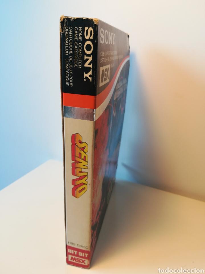 Videojuegos y Consolas: Juego de cartucho MSX Senjyo (Hit Bit, 1984) COMPROBADO FUNCIONA - Foto 3 - 200262428