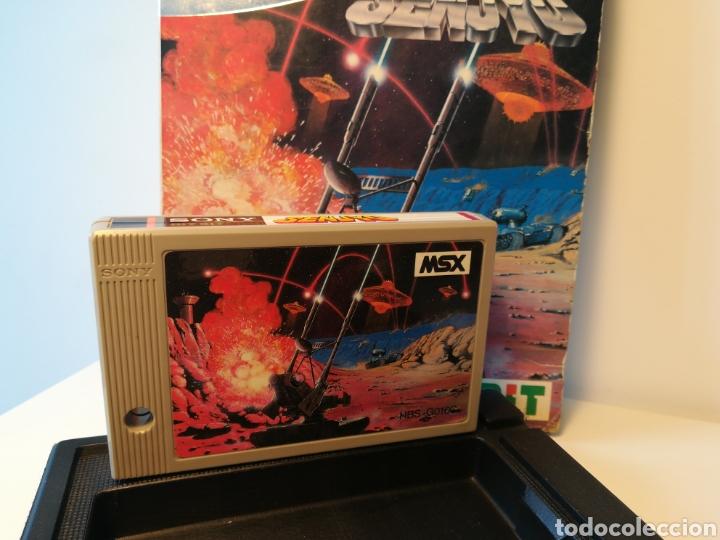 Videojuegos y Consolas: Juego de cartucho MSX Senjyo (Hit Bit, 1984) COMPROBADO FUNCIONA - Foto 6 - 200262428