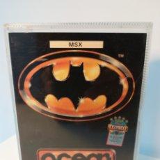 Videojuegos y Consolas: JUEGO MSX CASSETTE BATMAN (OCEAN SOFTWARE). Lote 200274338