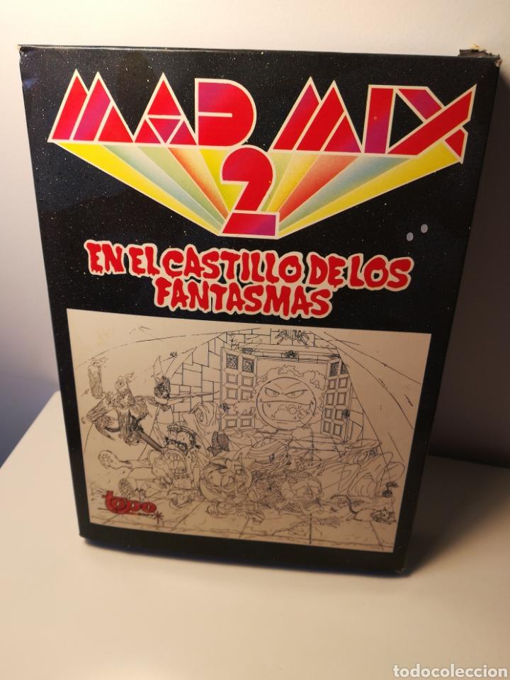 JUEGO MSX CASSETTE MAD MIX 2 EN EL CASTILLO DE LOS FANTASMAS (TOPO SOFT, 1990) (Juguetes - Videojuegos y Consolas - Msx)