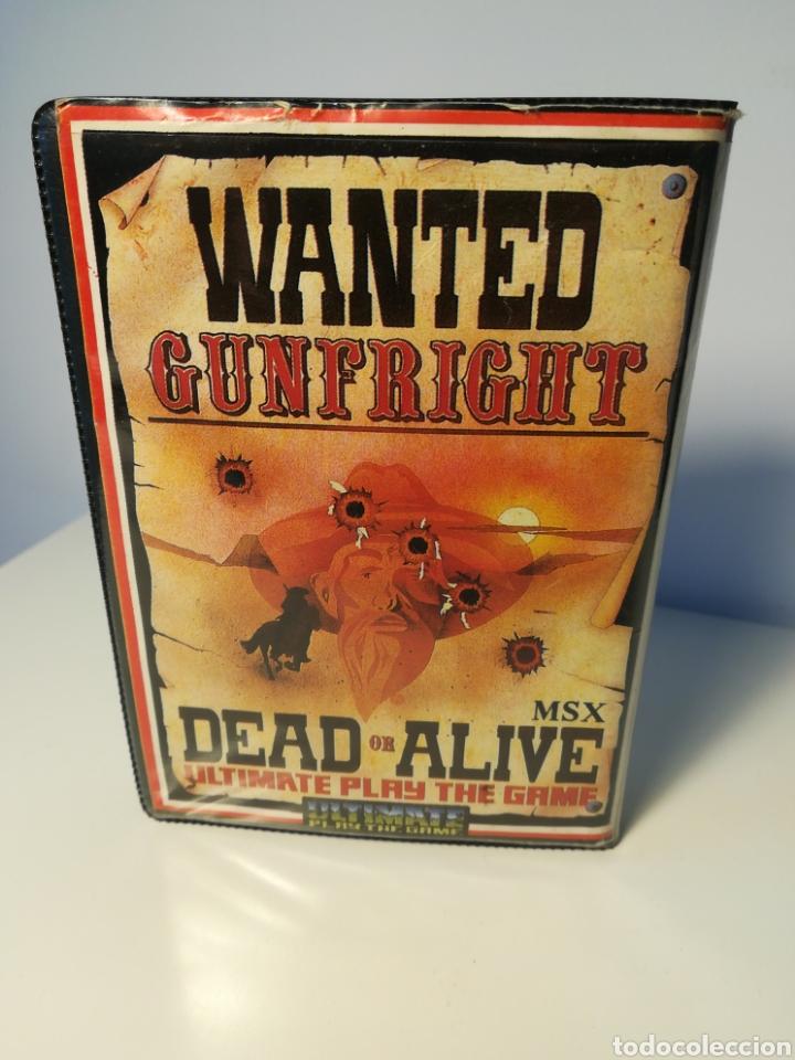 Videojuegos y Consolas: Juego MSX cassette Gunfright Dead or Alive (Ultimate, 1986) - Foto 2 - 200284355