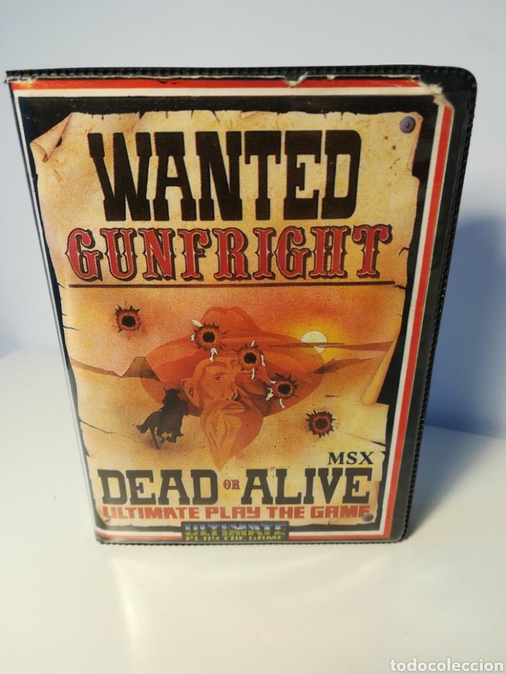 JUEGO MSX CASSETTE GUNFRIGHT DEAD OR ALIVE (ULTIMATE, 1986) (Juguetes - Videojuegos y Consolas - Msx)