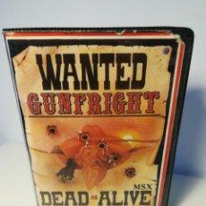 Videojuegos y Consolas: JUEGO MSX CASSETTE GUNFRIGHT DEAD OR ALIVE (ULTIMATE, 1986). Lote 200284355