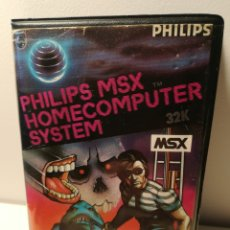 Videojuegos y Consolas: JUEGO MSX CASSETTE BLAGGER (MICRO BYTE). Lote 200286045