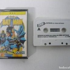 Videojuegos y Consolas: BATMAN / JEWEL CASE / MSX / RETRO VINTAGE / CASSETTE - CINTA. Lote 200785758