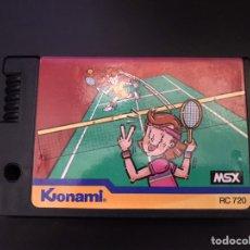 Videojuegos y Consolas: CARTUCHO MSX JUEGO TENIS FUNCIONANDO. Lote 201123471